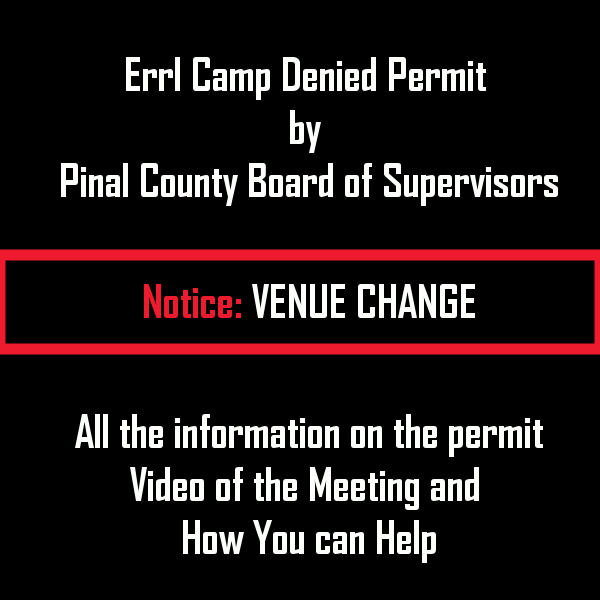 Errl Camp Venue Location Changed