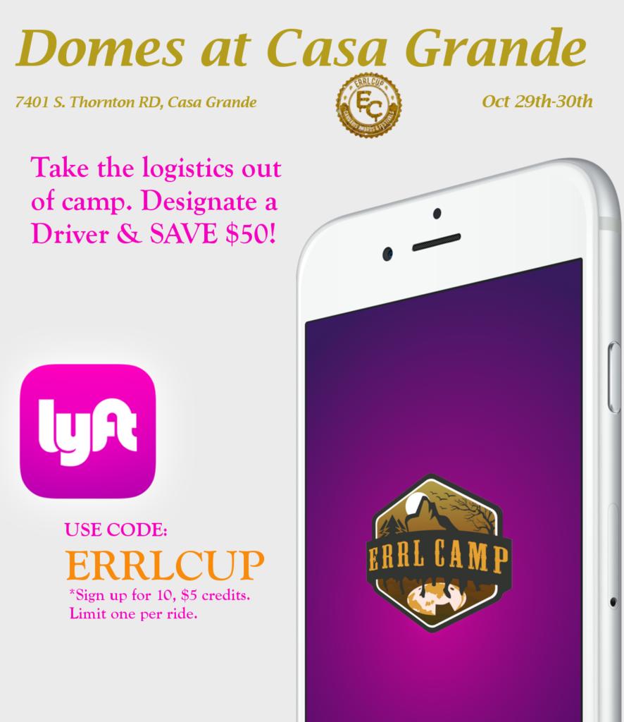 Lyft Gives Discounts Errl Camp