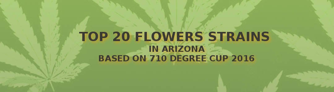 Arizona Medical Marijuana Top 20 Flower for 2016 710 Degree Cup